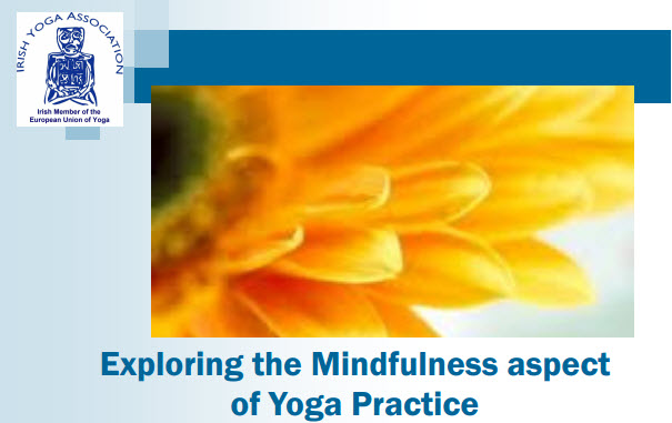 IYA CPD Exploring the Mindfulness aspect of Yoga Practice with Gabi Gillessen. 11th March 2017.
